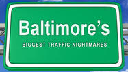 Baltimore's top 10 biggest traffic nightmares [Maps]