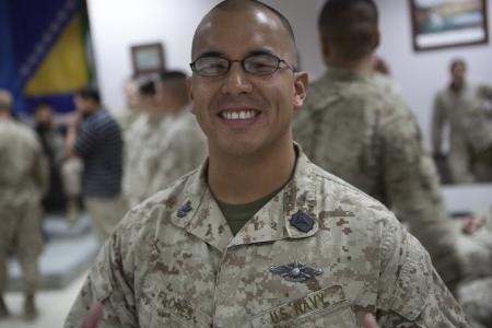 "Navy corpsman Benny Flores displayed ""extraordinary guidance, zealous initiative, and total dedication to duty"" during a Taliban ambush, his Silver Star citation said."