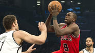 Luol Deng will not be with the Chicago Bulls when they play Game 7 against the Brooklyn Nets on Saturday night.