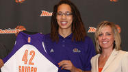 Phoenix Mercury Introduce Brittney Griner