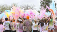 "<span style=""font-size: medium;"">Mother Nature hasn't been too kind this year; bringing freezing temperatures, high-speed winds and ice cold rain in the month of May. Despite the winter weather conditions, over 8,000 Wichita runners came dressed in white, prepared to get blasted with color in the 'Color Me Rad' 5K on Saturday, May 4. </span>"