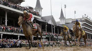 Stuart Janney III slipped into Churchill Downs virtually unnoticed Saturday afternoon, a few hours after landing in Lexington and driving to the track with his wife, two children and son-in-law. The northern Baltimore County resident, who had avoided the Kentucky Derby fanfare all week, soon found himself as the center of attention.