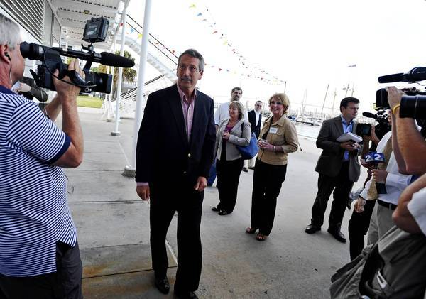 Former South Carolina Gov. Mark Sanford has been avoided by fellow Republicans and summoned back to court by his ex-wife. His House race Tuesday remains a tossup.