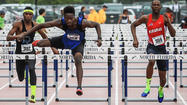 JACKSONVILLE — In the seventh grade Christopher Grinley didn't want to run hurdles. Maybe because his coach made him do it.