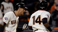 San Francisco Giants, Hunter Pence, Francisco Peguero