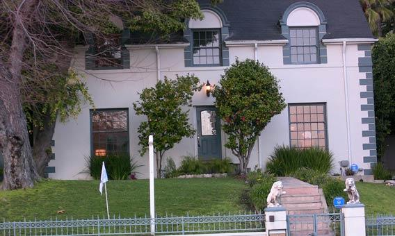 Actress' former home