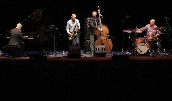 The Bad Plus, with Ethan Iverson on piano, Reid Anderson on bass and Dave King on drums, are joined by Joshua Redman on saxophone.
