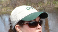 DNR Fisheries Biologist Heather Hettinger
