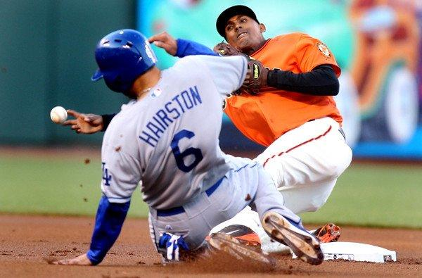 Jerry Hairston Jr., Joaquin Arias