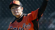 ANAHEIM, Calif. -- Orioles left-hander Tsuyoshi Wada's recovery from Tommy John surgery is expected to take a significant step forward next week.