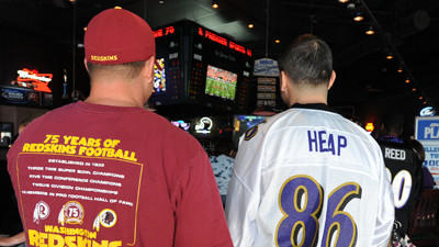 Ravens games showing up more frequently on Washington-area TVs
