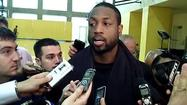 Video: Wade on Bulls: 'They won't go away'