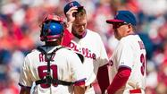 PHILADELPHIA - Roy Halladay, one of the greatest pitchers of his generation, was shelled again Sunday afternoon, this time by the Miami Marlins, the feeblest offensive team in the major leagues.