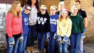 Young people from Windber came together, April 3-7, to help clean up and repair properties devastated by flooding in late summer of 2011, in Northumberland County, Pennsylvania.