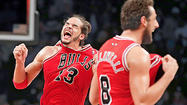 MIAMI — <strong>Joakim Noah</strong> sat in a small chair in New York late Saturday night, waiting for Nets guard <strong>Deron Williams </strong>to finish an interview so he could take the interview-room podium.