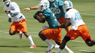 "– Every other sentence that comes out of Mike Gillislee's mouth has the word ""opportunity"" wedged in it with the same commitment the Dolphins tailback uses to squeeze through a defensive front."