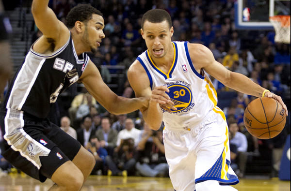 Cory Joseph and the Spurs will try to slow down Warriors sharpshooting guard Stephen Curry when their playoff series starts Monday in San Antonio.