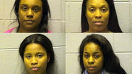 A Las Vegas trip was cut short for four Chicago women Friday when they were arrested and charged with identity theft as they attempted to board their flight at O'Hare International Airport, according to Cook County prosecutors and court documents.