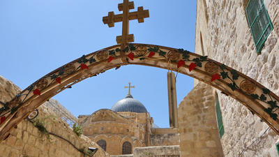 Photos: Visiting the Church of the Holy Sepulcher