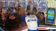 David Ragan scores wild, rainy win at Talladega