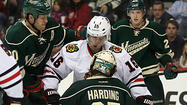 ST. PAUL, Minn. — Hours before the game, Mike Yeo called for hatred, some raw contempt for the Blackhawks and everything they had done to his Wild club so far. The second-year coach thought it was needed, and he didn't think it would be hard to come by.