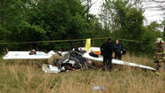 Two Baltimore-area residents were killed in a small plane crash in Virginia on Saturday, the Virginia State Police said Sunday.