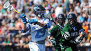 After 41 consecutive appearances in the NCAA men's lacrosse tournament, No. 13 Johns Hopkins was left out of the 16-team field when it was announced Sunday night. The program's run had been the longest active streak in Division I in all sports — just ahead of Miami baseball (40 straight) and Virginia men's soccer (32).
