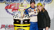 TALLADEGA, Ala. -- In one of the greatest upsets in NASCAR history, David Ragan, with drafting help from Front Row Motorsports teammate David Gilliland, passed Carl Edwards on the final lap Sunday, then held off Edwards and Gilliland to win the rain-delayed Aaron's 499 at Talladega Superspeedway.
