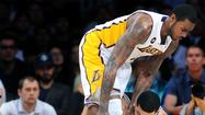 Forward Earl Clark gave the Lakers a midseason boost when the team was riddled with injury. His stretch of strong play may make him too expensive for the Lakers to retain as a free agent.