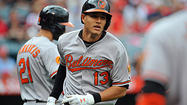 ANAHEIM, Calif. — The first five weeks of the Orioles' season has included more than its share of hotel rooms and plane rides, ending with a marathon 11-day, 11-game stretch to the West Coast.