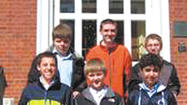 Students from St. Mary Catholic School in Hagerstown traveled to Annapolis recently to visit the offices of the Washington County delegation to the Maryland General Assembly.