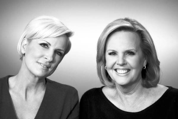 Best friends Mika Brzezinski, left, and Diane Smith.