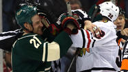 """How to slow down the Chicago Blackhawks,"" by the Minnesota Wild."