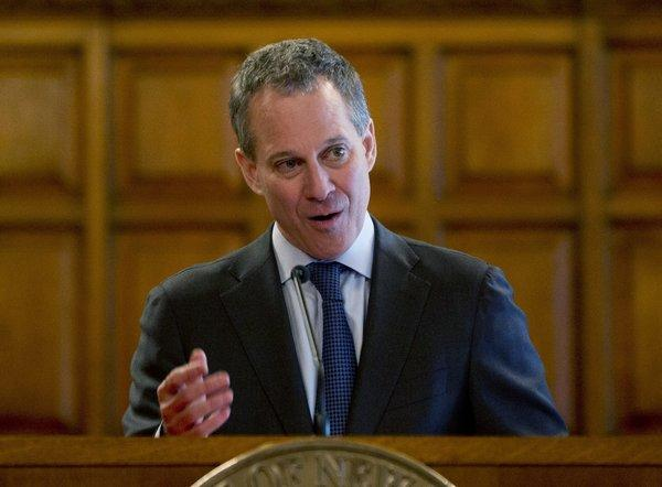 New York Atty. Gen. Eric Schneiderman at an event last week.