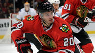 Brandon Saad skated with the Chicago Blackhawks' top line all year. Now he's in another premier trio: finalists for the Calder Trophy.