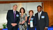 Exelon Corporation has recognized employee Audrey Todd of Oak Park, Ill., with an achievement award for her volunteer service with Oak Park River Forest Food Pantry. The volunteer recognition is part of the company's annual Energy for the Community Volunteer Awards and comes with a $10,000 cash grant to the pantry in Todd's honor.
