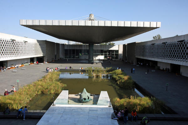 The Museum of Anthropology in Mexico City is one of the signature works of architect Pedro Ramirez Vazquez, who died April 16 at 94.