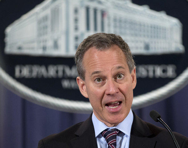 "New York Atty. Gen. Eric Schneiderman says two big banks are ""flagrantly"" violating terms of last year's $25-billion National Mortgage Settlement -- and a California activist says the agreement is also being violated in the Golden State."