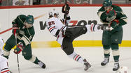 ST. PAUL, Minn. -- The Minnesota Wild's practice on Monday was optional. The repeat of intensity, or even an amplification of it on Tuesday against the Chicago Blackhawks, is not.
