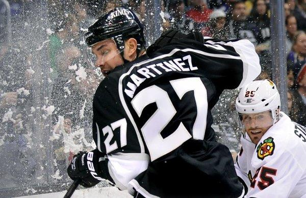 It looks like Alec Martinez will be back in the Kings' lineup for Game 4 of the playoff series against the St. Louis Blues.