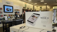 Barnes & Noble knows it's not winning the tablet race by any margin, but the book retailer is hoping for a big boost for Mother's Day.