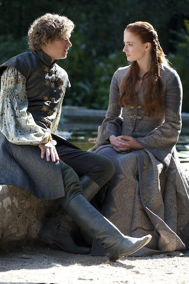 'Game of Thrones' Season 3: Loras Tyrell and Sansa Stark