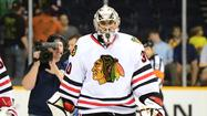 ST. PAUL, Minn. -- Center Dave Bolland and goaltender Ray Emery were on the ice for the Chicago Blackhawks during practice Monday at Xcel Energy Center, but they won't be during Game 4 against the Minnesota Wild.