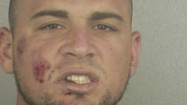 A Jupiter man making his getaway in a stolen red Camaro with at least three flat tires eluded police for nearly three hours, police records show.