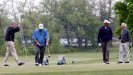 WASHINGTON -- On the first green, President Obama put his arm around Sen. Bob Corker, the Tennessee Republican.