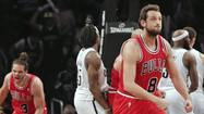 MIAMI -- Chicago Bulls guard Marco Belinelli has been fined for making what the NBA deemed to be an obscene gesture during the fourth quarter of Saturday's Game 7 victory over the Brooklyn Nets, the league said Monday.