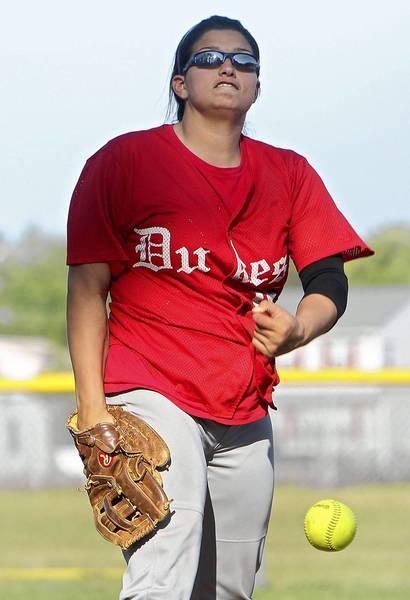 Gloucester pitcher Makayla Jenkins