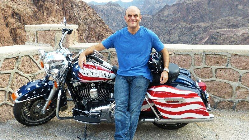 "Peter Sagal, host of NPR's ""Wait, Wait ... Don't Tell Me,"" travels cross-country on a customized Harley-Davidson to find out what the Constitution means in the 21st century."