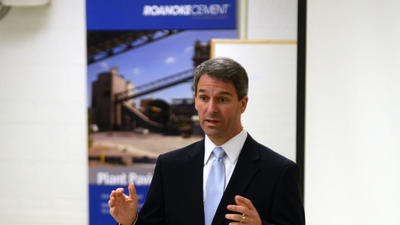 Cuccinelli campaigns in western Virginia, answers questions about Richmond controversy