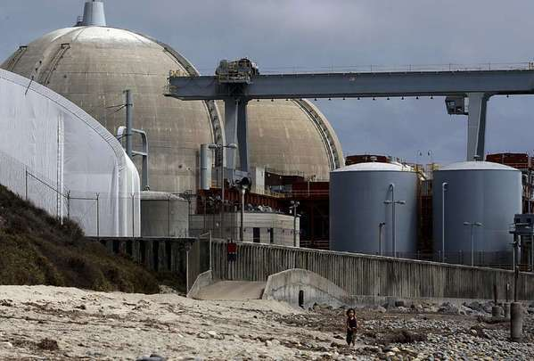 The San Onofre Nuclear Generating Station, which has been shut down since early 2012.